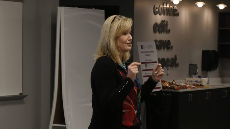 EDGE Executive-in-Residence Shares Tips