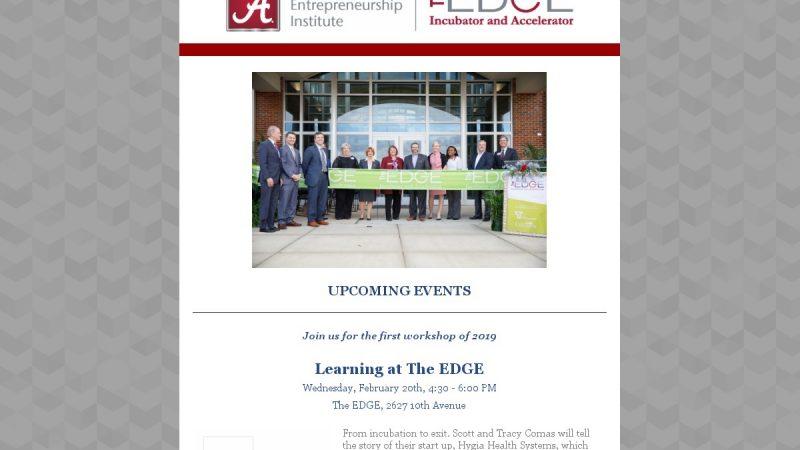 EDGE Newsletter – February 2019