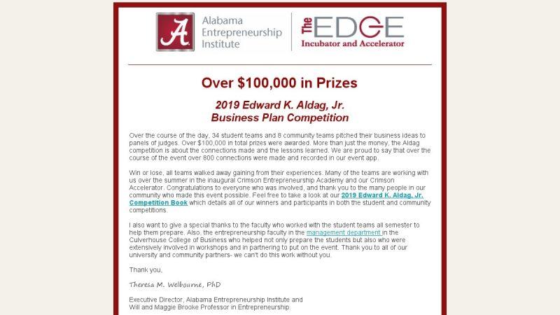 EDGE Newsletter – May 2019