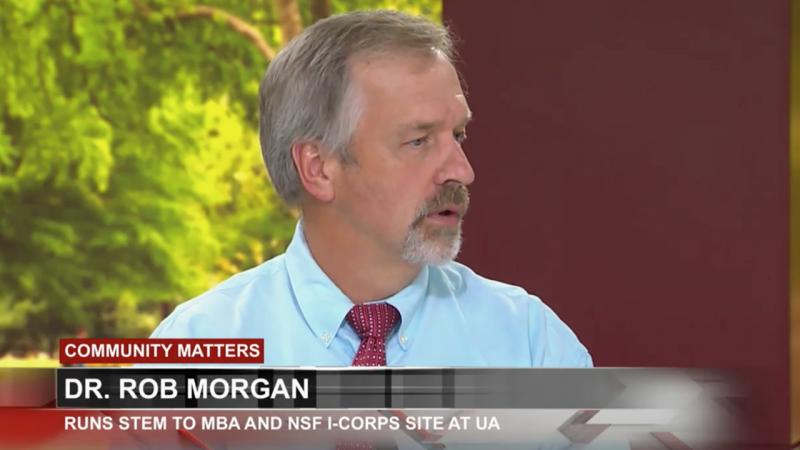 UA professor, Rob Morgan, helps students succeed in accelerated programs